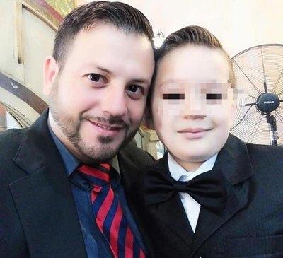 Papá del niño baleado no declaró por querer ver a su hijo