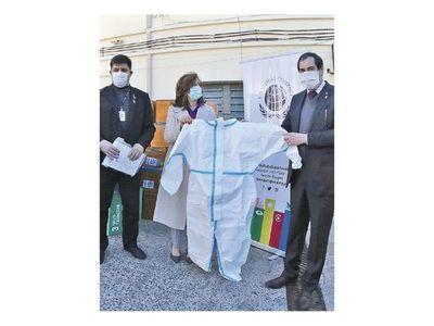 Pacto Global dona 2.000 mamelucos de seguridad al MSP