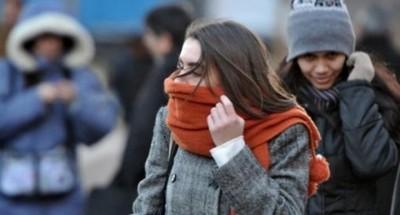Anuncian jornada fría a cálida con precipitaciones para este miércoles