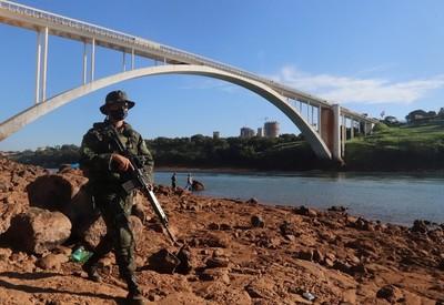 Brasil refuerza CONTROL en el río PARANA por aumento de CONTRABANDO de CIGARRILLO y TRAFICO  de DROGA