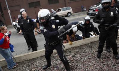 """Donald Trump pide a la policía que """"se endurezca"""""""