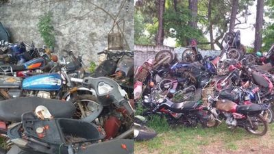 San Ignacio; urge la eliminación de chatarras de la Comisaría