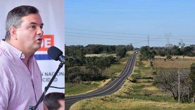Carlos Arrechea anuncia tercera vía para la ruta PY01, tramo San Ignacio-Santa Rosa Misiones