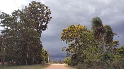 Anuncian lluvias e incluso tormentas eléctricas para Misiones