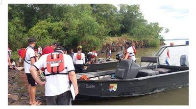 Menor habría desaparecido en aguas del Paraná