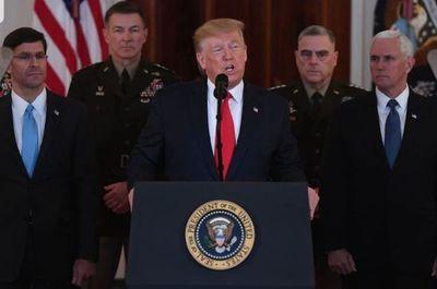 """Trump anuncia sanciones adicionales """"inmediatas"""" contra Irán"""