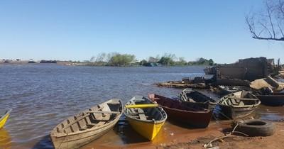 Cruzó el río Paraguay desde Argentina e ingresó ilegalmente a Lambaré