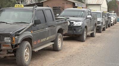 Sector de taxistas en el Chaco expresan estar muy afectados por la cuarentena