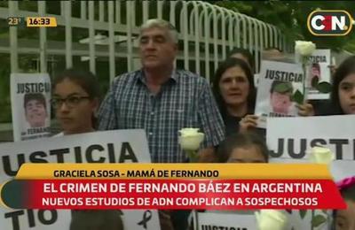 Crimen de Fernando Báez: Peritaje de ADN compromete a dos acusados