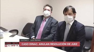 HOY / El Tribunal de Apelaciones anuló resolución del juez en el caso de tapabocas de la DINAC