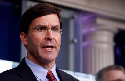 HOY / Secretario de Defensa contradice a Trump y se opone al despliegue de militares para frenar protestas