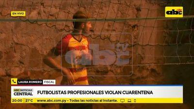 Jugadores Sebastián Ferreira y Renato Mencia serán llevado a declarar