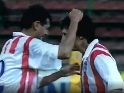 Los goles de Rumania 3-2 Paraguay