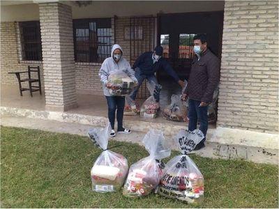 Tercera entrega kits de alimentos para alumnos del Chaco