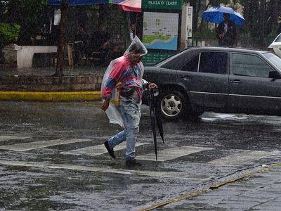 Lluvias y probables tormentas eléctricas persistirán este jueves