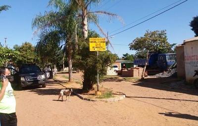Asentamiento de Villeta está bloqueado por fuerzas policiales