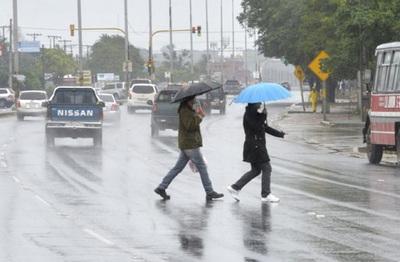 Ingreso de frente fresco, con lluvias y tormentas