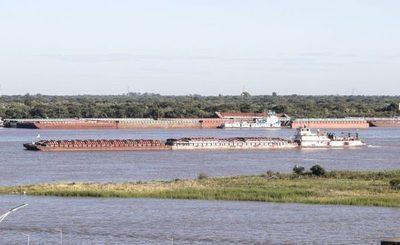 170 embarcaciones sacaron 238.800 toneladas de mercaderías por el río Paraná