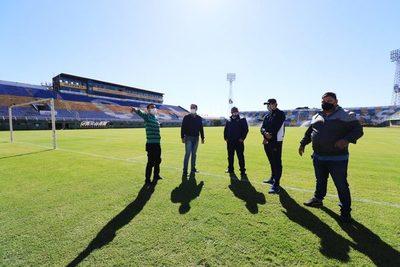 Covid-19: APF continúa con reinspección de estadios • Luque Noticias