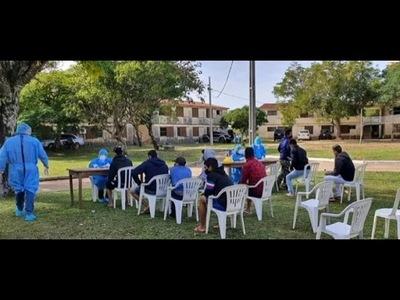 EN AYOLAS, 39 CONNACIONALES DIERON POSITIVO A COVID-19 EN UN SOLO ALBERGUE