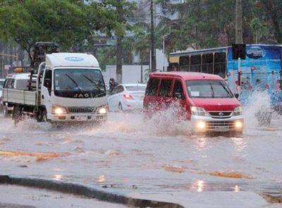 12 departamentos están bajo alerta de temporal significativo