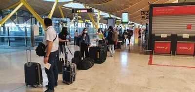 ¡Buen viaje! Más de 300 paraguayos en Europa regresan al país