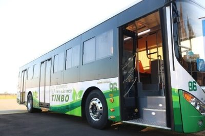 Buses eléctricos brindarán viajes gratuitos por el día del Medio Ambiente