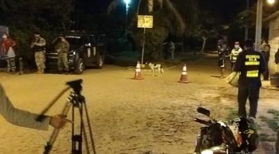 Villeta: Albañil contagiado por militar tuvo contacto con 130 personas