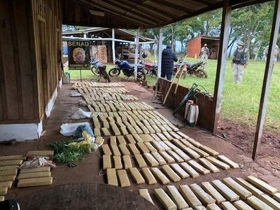PJC: Incautan más de 1.200 kilos de marihuana