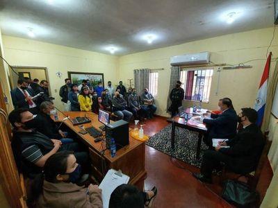 Teleconferencia entre PPL de la Penitenciaría Pedro Juan Caballero y actores del sistema de justicia