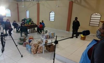 HOY / Micrófono abierto en Villeta, entrega de donaciones de alimentos para un comedor comunitario
