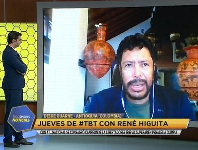 Higuita recuerda la Libertadores del 89