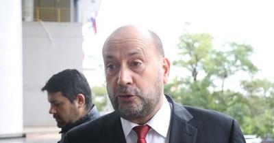 """El colorado """"Cachito"""" Salomón fue electo como presidente del Congreso Nacional"""