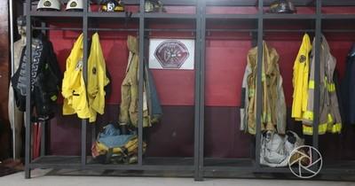 Bomberos de Roque Alonso van a cuarentena por contacto con un caso positivo de COVID