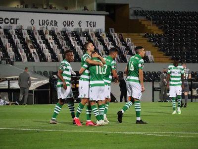 El Sporting empata a domicilio contra el Vitória de Guimarães