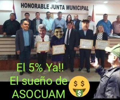 5 %: El sueño de la Asocuam en Pedro Juan  Caballero
