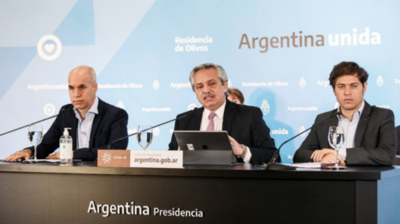 HOY / Argentina extiende las restricciones por un lapso de tres semanas