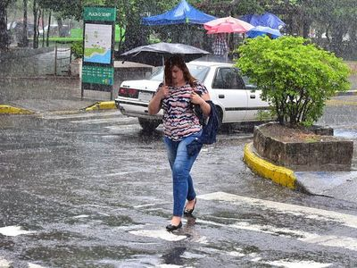 Lluvias y tormentas eléctricas en todo el país para este viernes