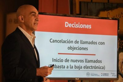 Salud anulará procesos con irregularidades