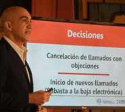 Llamados de compra de insumos con objeciones serán cancelados