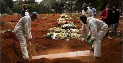 En Brasil el Covid-19 ya mata a más de una persona por minuto