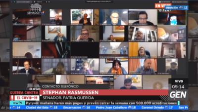HOY / Senador Stephan Rasmussen, sobre los nuevos integrantes de la Mesa Directiva