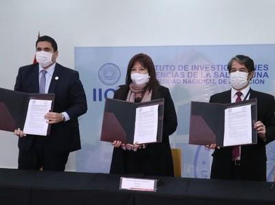 La APF firma convenio con el Inst. de Investigaciones en Ciencias de la Salud