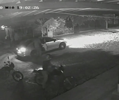 """""""Motochorros"""" asaltaron a comerciante en San Lorenzo"""