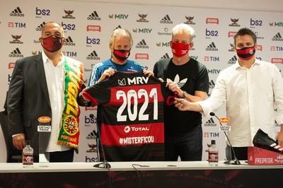 Flamengo y Jorge Jesús siguen juntos