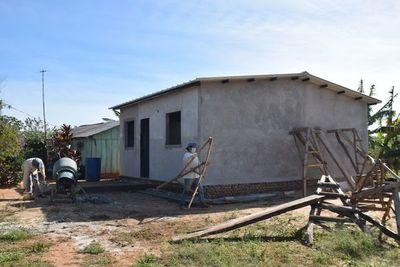 Viviendas sociales, en etapa final en asentamiento de Yuty