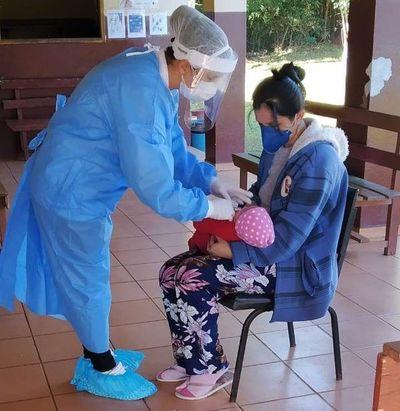 Instan a completar esquema de vacunación para los niños