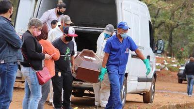 COVID-19 en Brasil: Más de 1.000 muertes por cuarto día consecutivo y el total ya superó las 35.000
