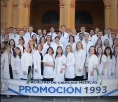 Emotivo mensaje de apoyo a médico paraguayo que venció al coronavirus