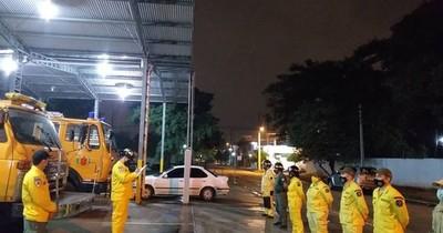 Bomberos de Roque Alonso desmienten caso de COVID-19 entre sus filas